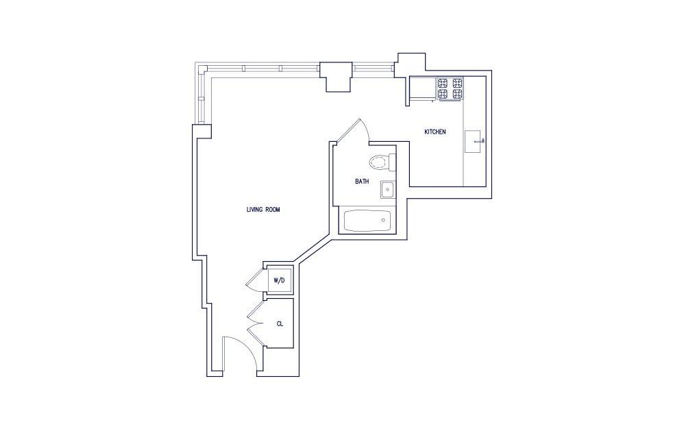 Unit A - Floor 8