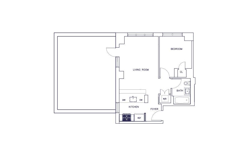 Unit B - Floor 14