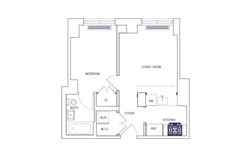 Unit B - Floors 3-12