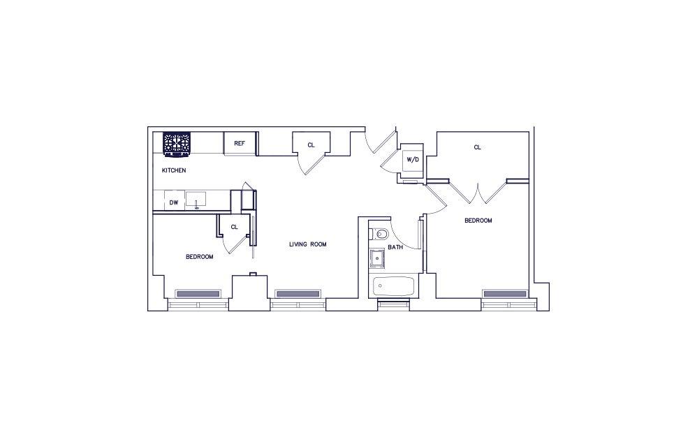 Unit C - Floor 20