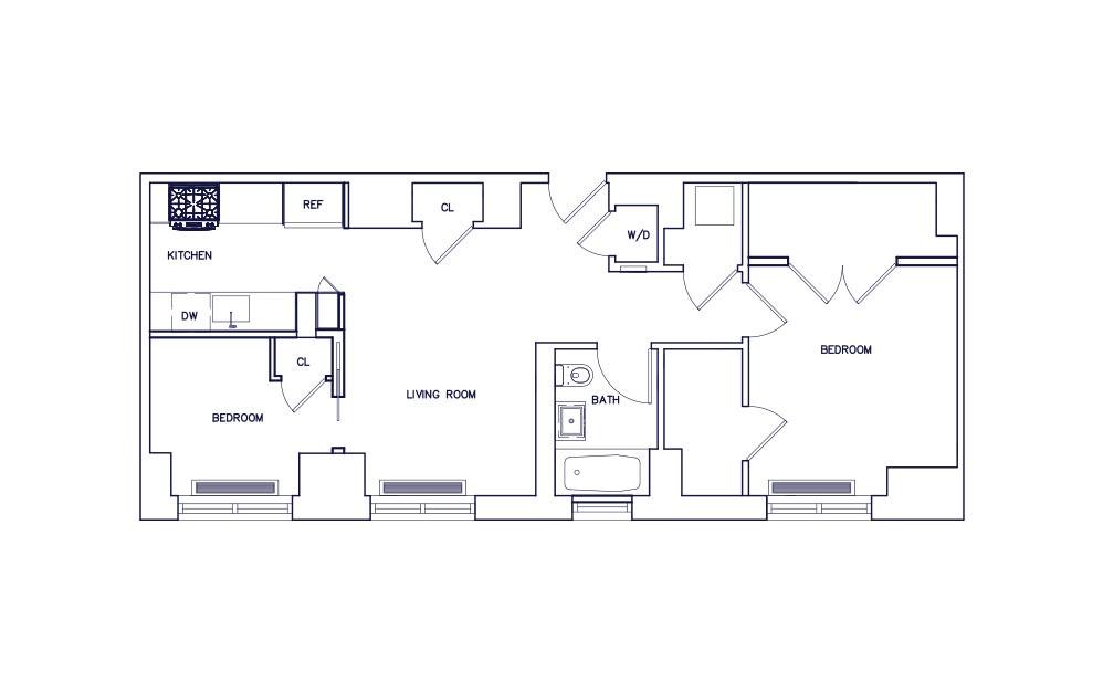 Unit C - Floor 22