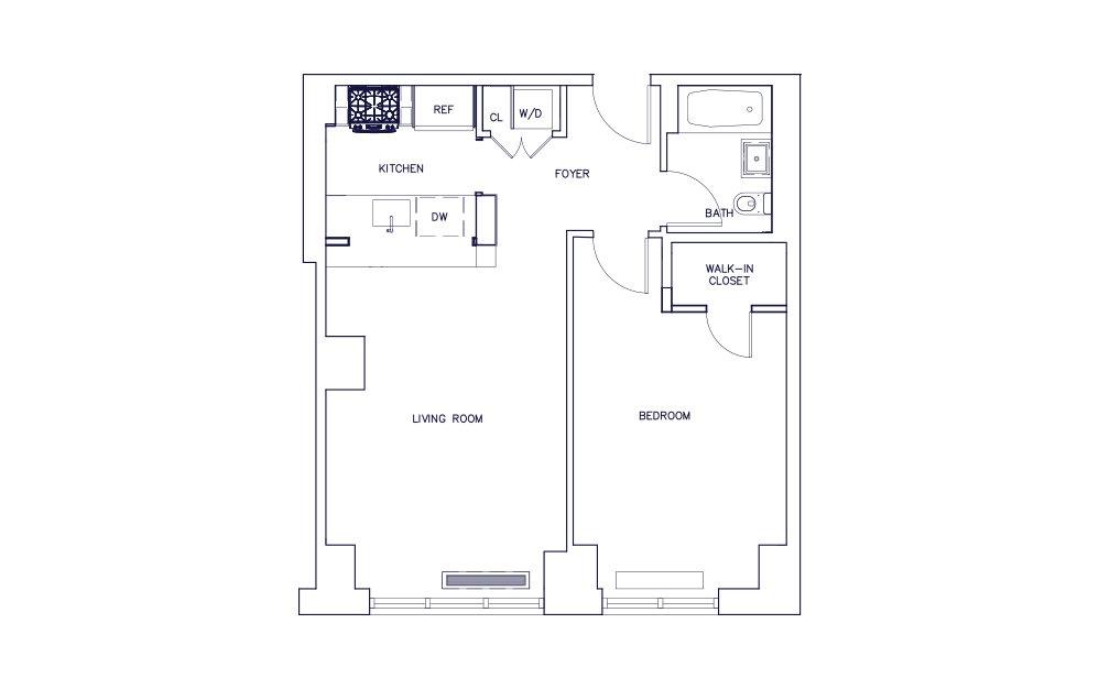 Unit E - Floor 16