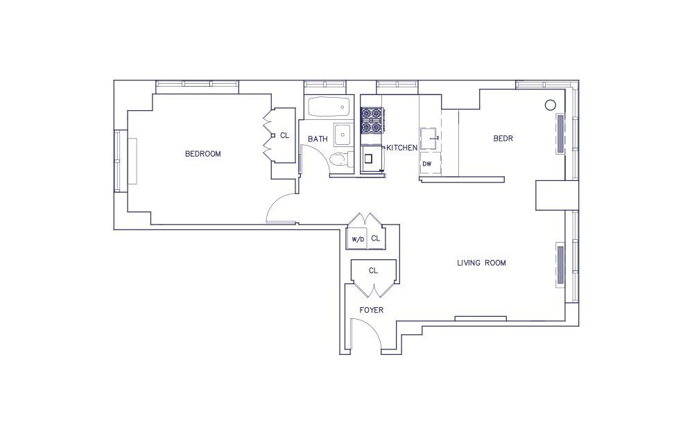 Unit F - Floor 18